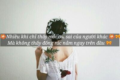 Không nên nhìn lỗi người – Hãy nên nhìn lỗi mình – CSNH