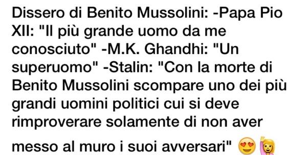 Benito Mussolini Benitomussolini Likes Askfm