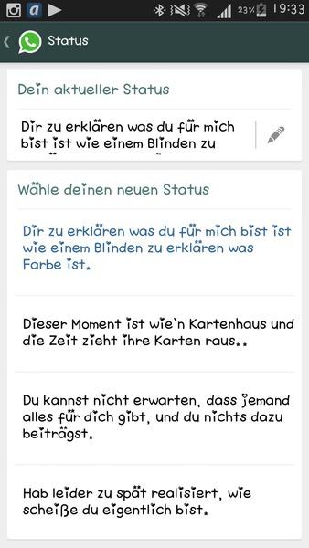 Whatsapp Status Askfmlynnvandenberg