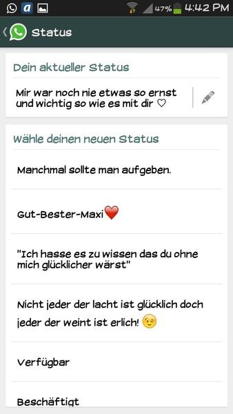 Whatsapp Status Askfmmiriamfritzl