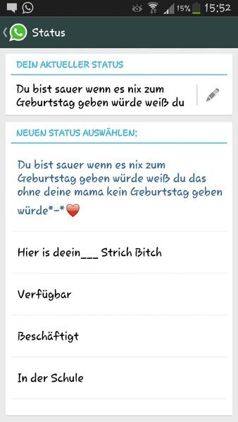 Whatsapp Status Süßer Askfmduleabersagkein