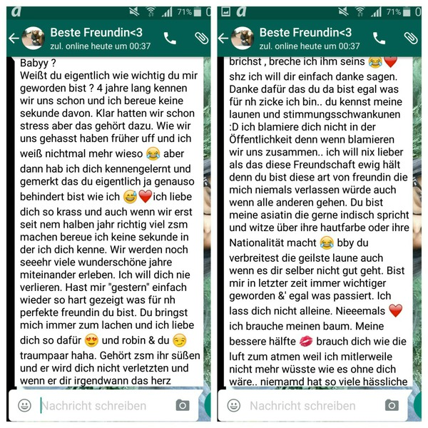 Lange Whatsapp Texte