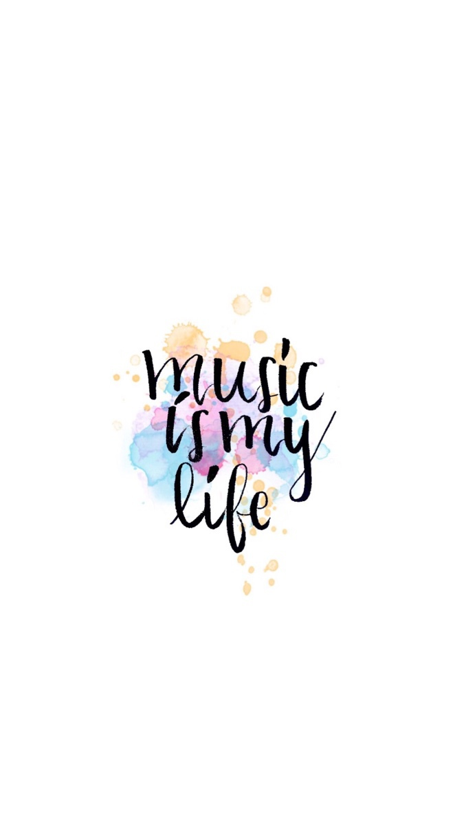 Pls Write Music Is My Life Iphone 6 Wallpaper Size Thanks