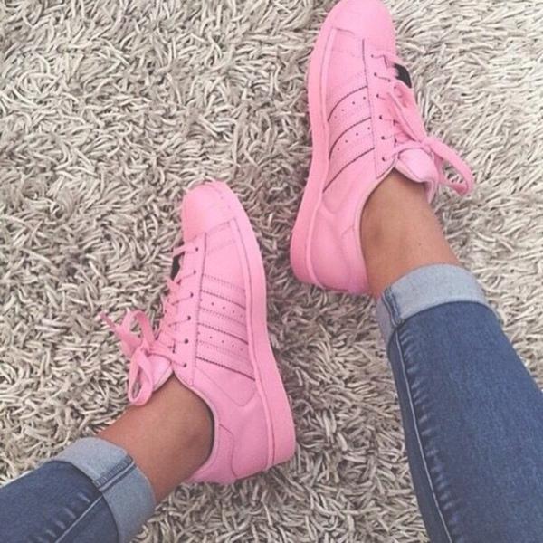 pink adidas superstar tumblr
