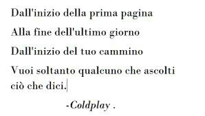 Frasi Coldplay In Italiano Ask Fm Whatsappsmessages