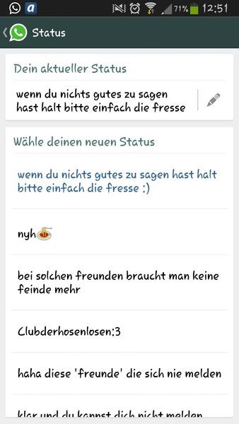 Whatsapp Status Askfmihrseidminusmenschen