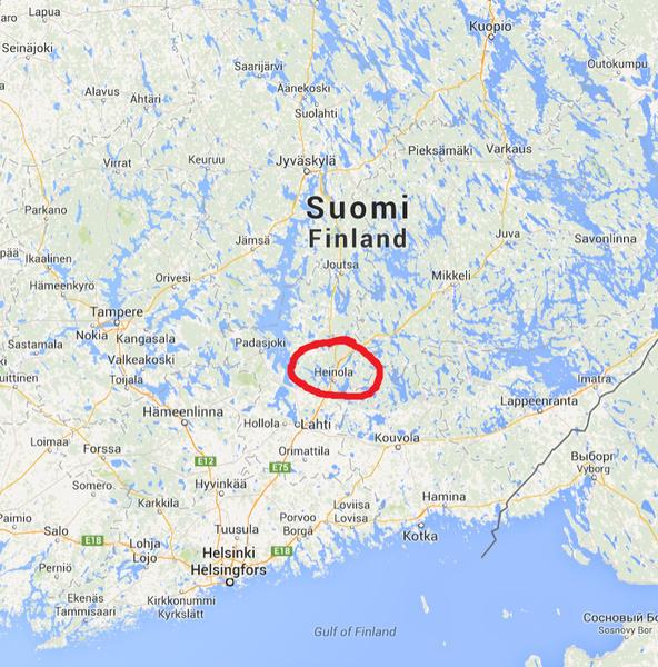 Missa Heinola On Suomen Kartalla Ask Fm Annuuuuh